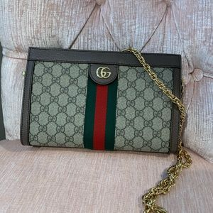 Gucci supreme ophidia medium chain bag